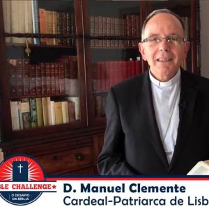 Patriarca inicia o desafio da Bíblia