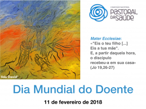 Cartaz Dia Mundial do Doente 2018