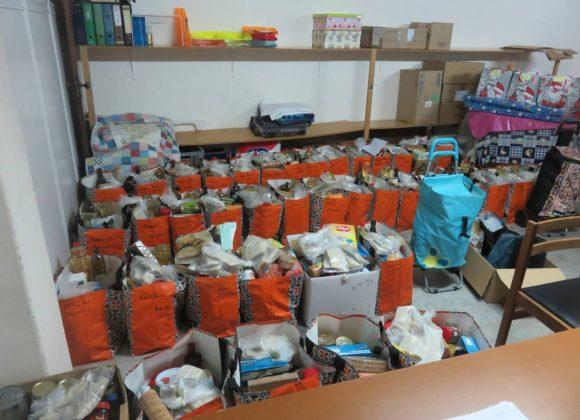 Conferência Vicentina distribui cabazes de Natal