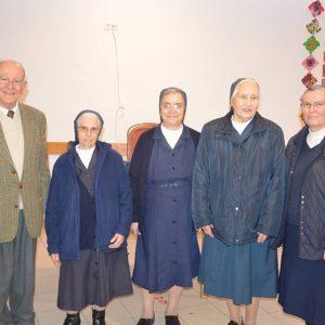 Irmãs voltam à Misericórdia das Caldas