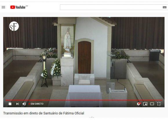 Transmissão das celebrações em Fátima | Maio de 2020