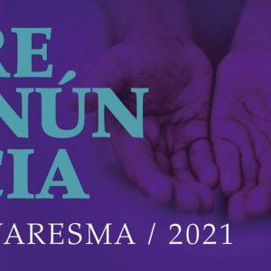 Renúncia Quaresmal 2021 | Patriarcado de Lisboa